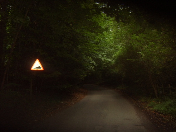 The start of the climb - where's my lights?