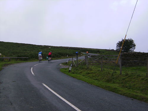 The upper section of Sand Hill, steeper than it looks