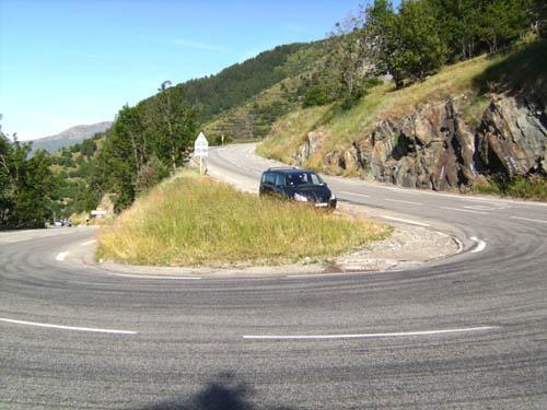 Alpe d'Huez, hairpin 4
