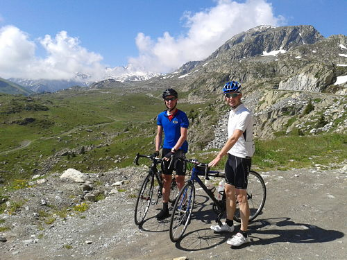 On top of the Croix de Fer