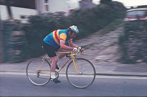 Frank Bradley in 1974