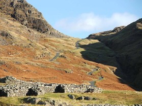 The Upper Section Eskdale side, gulp